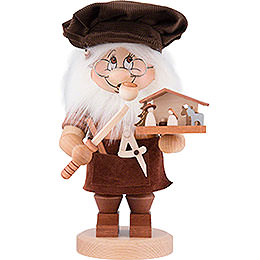 Smoker - Gnome Nativity Carver - 27,5 cm / 10.8 inch