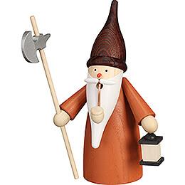 Smoker  -  Gnome Nightwatchman  -  16cm / 6.3 inch