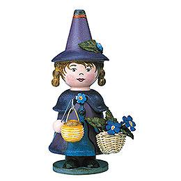 Smoker - Gnome Violet - 14 cm / 5,5 inch