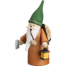Smoker - Gnome Wood Gatherer - 16 cm / 6.3 inch