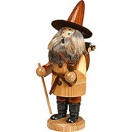 Smoker - Gnome Wood Gatherer, Natural - 22 cm / 9 inch