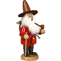 Smoker - Gnome Wood Gatherer Red - 22 cm / 9 inch