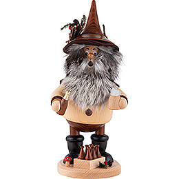 Smoker - Gnome with Beer - 25 cm / 9.8 inch