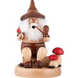 Smoker - Gnome with Picnic Bag - 16 cm / 6.3 inch