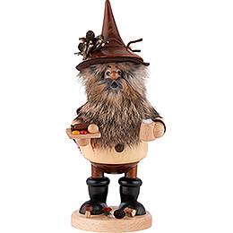 Smoker - Gnome with Sausage - 25 cm / 9.8 inch
