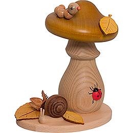 Smoker - Greenfinch Mushroom - 14 cm / 5.5 inch