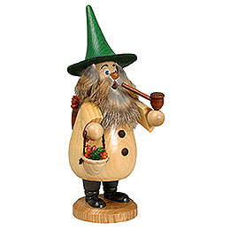 Smoker - Herb-Gnome Natural Colors - 19 cm / 7 inch