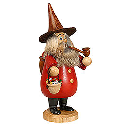 Smoker - Herb-Gnome Red - 19 cm / 7 inch