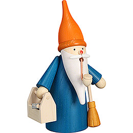Smoker - House Gnome - 16 cm / 6.3 inch
