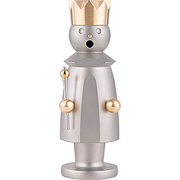 Smoker - King - Stainless Steel, Glass Bead blasted - 15 cm / 5.9 inch