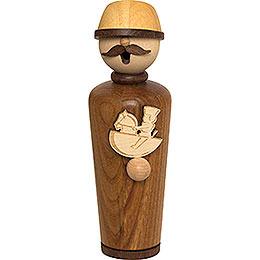 Smoker - Masterpiece - Woodcraftsman - 17 cm / 6.7 inch
