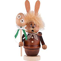 Smoker - Mini-Gnome Bunny with Stick - 16 cm / 6.3 inch