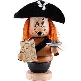 Smoker - Mini Gnome Pirat - 14 cm / 5.5 inch