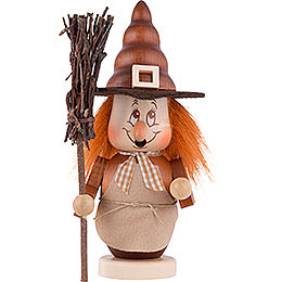 Smoker - Mini Gnome Witch - 16 cm / 6 inch