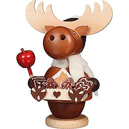 Smoker - Moose Gingerbread Salesman - 13,5 cm / 5.3 inch