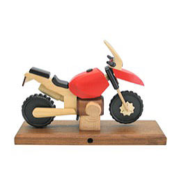 Smoker - Motorcycle Boxer GS Red 27x18x8 cm / 11x7x3 inch