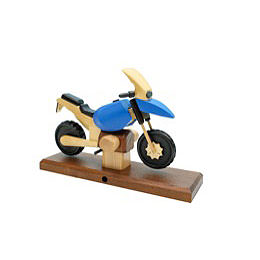 Smoker - Motorcycle Boxer RS Blue 27x18x8 cm / 11x7x3 inch