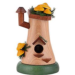 Smoker - Mushroom Hut Sheathed Woodtuft - 13 cm / 5.1 inch