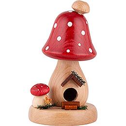 Smoker - Mushroom Hut Toadstool - 13 cm / 5.1 inch