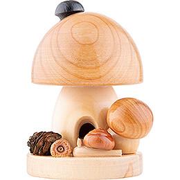 Smoker - Mushroom Natural - 11,5 cm / 4.5 inch