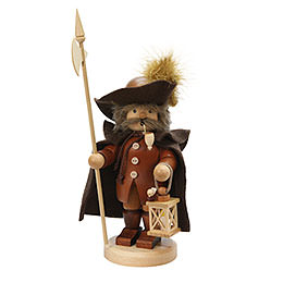 Smoker - Nightwatchman - Natural - 26 cm / 10 inch