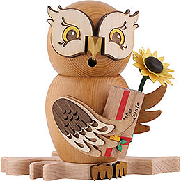 Smoker - Owl Well-Wisher - 15 cm / 5.9 inch