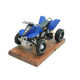 Smoker - Quad Blue 22x13x13 cm / 8x5x5 inch