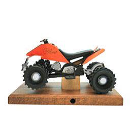 Smoker - Quad Orange 22x13x13 cm / 8x5x5 inch
