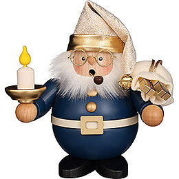 Smoker - Santa with Candle - 16 cm / 6.3 inch