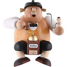 Smoker - Saxony Coffee Lover - Shelf Sitter - 24 cm / 9 inch