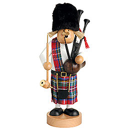 Smoker - Scotsman with Bagpipe - 109 cm / 43 inch