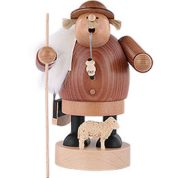 Smoker - Shepherd with Staff - 18 cm / 7 inch