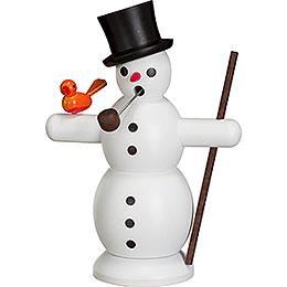 Smoker - Snowman - 16 cm / 6 inch
