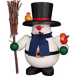 Smoker - Snowman - 17 cm / 6.7 inch