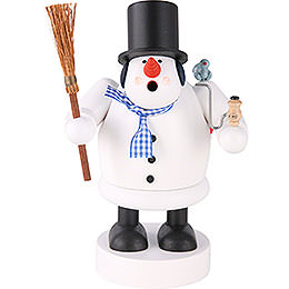 Smoker - Snowman - 20 cm / 8 inch