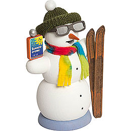 Smoker - Snowman Apres Ski - 13 cm / 5.1 inch
