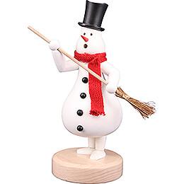 Smoker - Snowman Fridolin - 25 cm / 9.8 inch