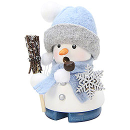 Smoker - Snowman 'Frosty' - 9 cm / 4 inch