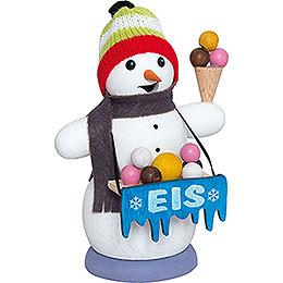 Smoker - Snowman Iceman - 13 cm / 5.1 inch