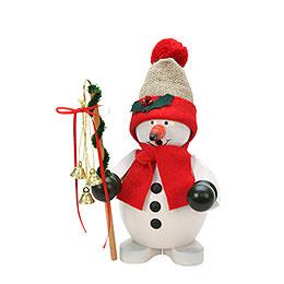 Smoker - Snowman Red - 23 cm / 9 inch