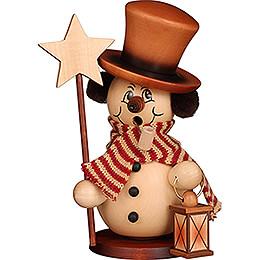 Smoker - Snowman Star Carrier Natural - 23,5 cm / 9.3 inch