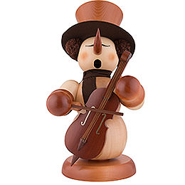Smoker - Snowman with Bass Natural - 60 cm / 24 inch