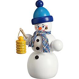Smoker - Snowman with Lantern - 16 cm / 6.3 inch