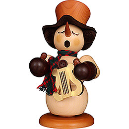 Smoker - Snowman with Lyre Natural - 23,5 cm / 9.3 inch