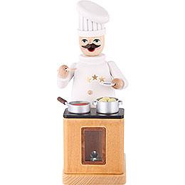 Smoker - TV Chef - 18 cm / 7 inch