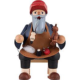 Smoker - Teddymaker - Shelf Sitter - 16 cm / 6.3 inch