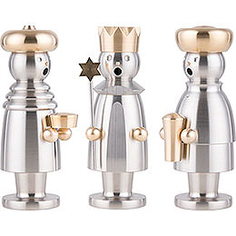 Smoker - The Three Wise Men - Stainless Steel - 15 cm / 5.9 inch