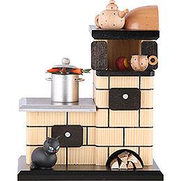 Smoker - Tiled Stove Smoking - 21 cm / 8 inch