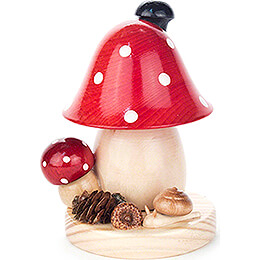Smoker - Toadstool - 12 cm / 4.7 inch