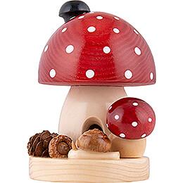 Smoker - Toadstool - 12 cm / 4.7 inch